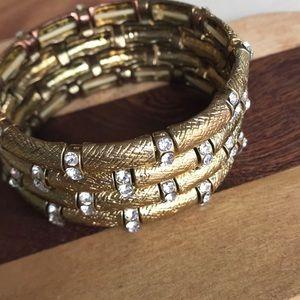 Jewelry - Pave stretch bracelet vintage